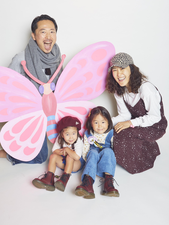 〈ドクターマーチン〉ロゼット作り&撮影会イベント参加者スナップ