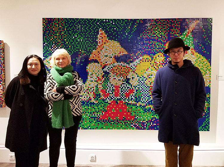 〈tupera tupera〉がパリを街歩き。子ども向け美術館訪問や絵本作家との交流