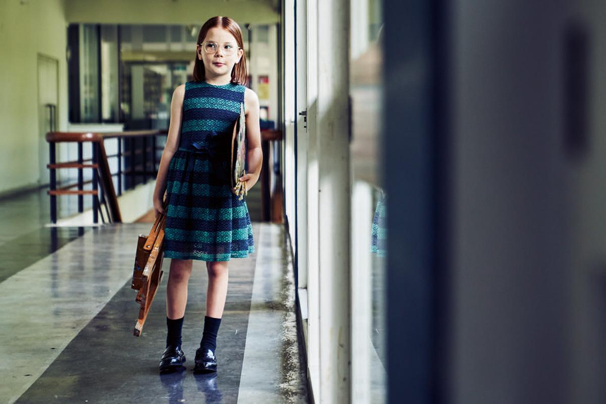 子どもたちを優しくつつむ〈トミー ヒルフィガー〉の新しいオケージョンウェア