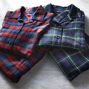10月:「ラルフ ローレン ホーム」のパジャマを2名様に
