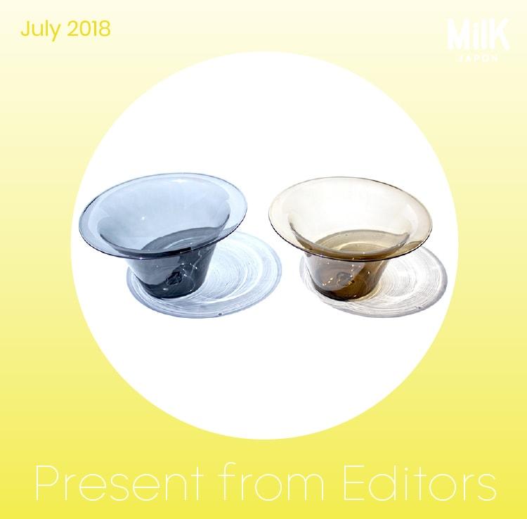 7月:〈ütutu〉のガラスの器