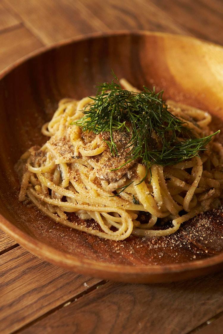36 イワシのパスタ シチリア風レシピ