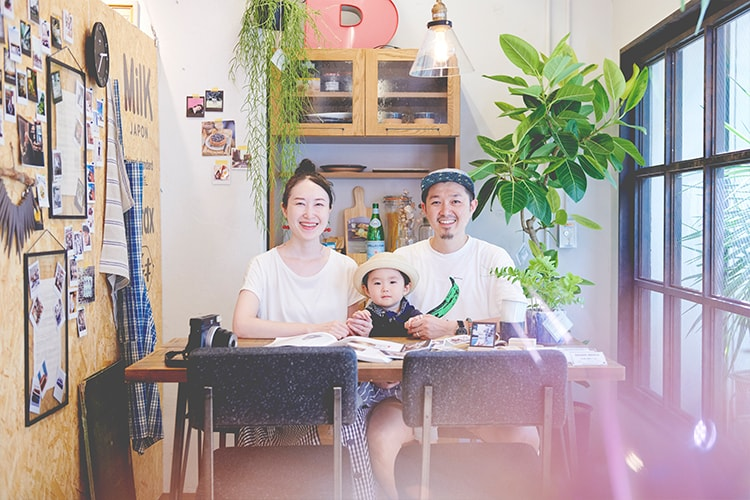 ファミリーポートレート撮影会 in〈etc.JOURNAL STANDARD〉参加者スナップ!