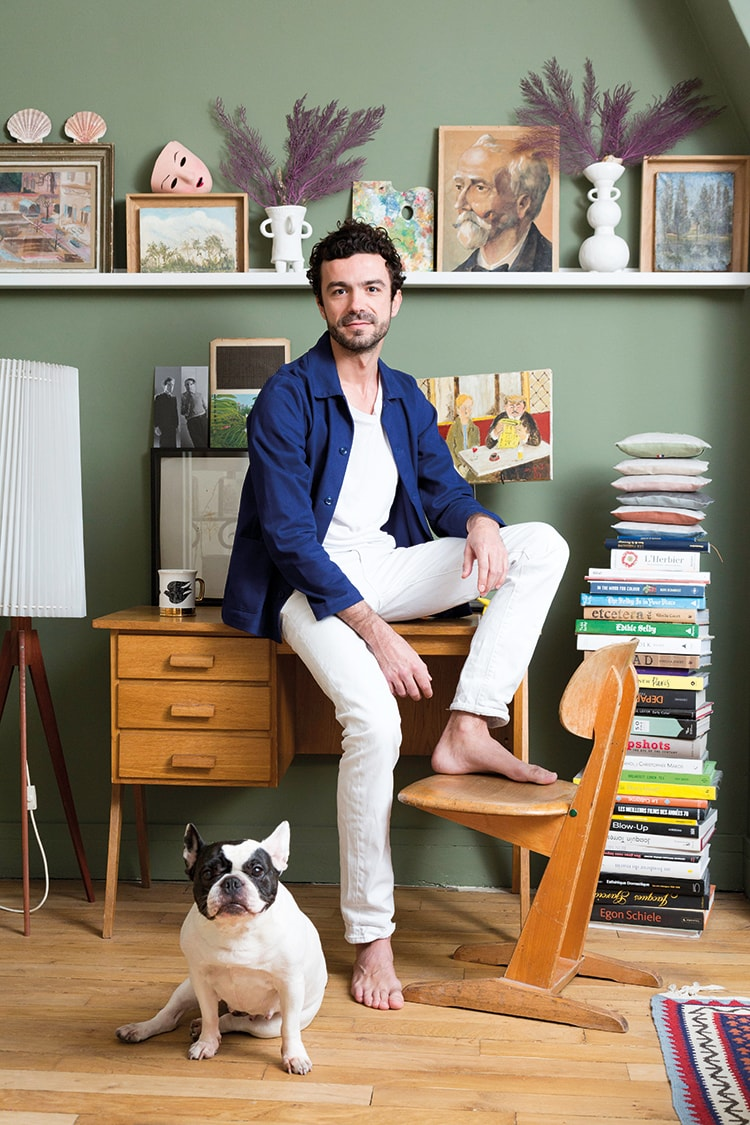 〈コントワー・デ・コトニエ〉のカプセルコレクションを手がける、デザイナー・Marin Montagut氏にインタビュー。