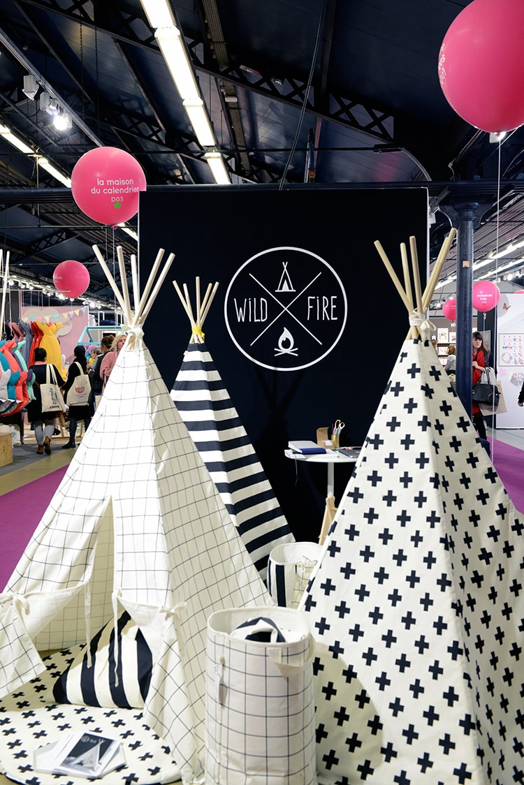 〈WILDFIRE TEEPEES〉