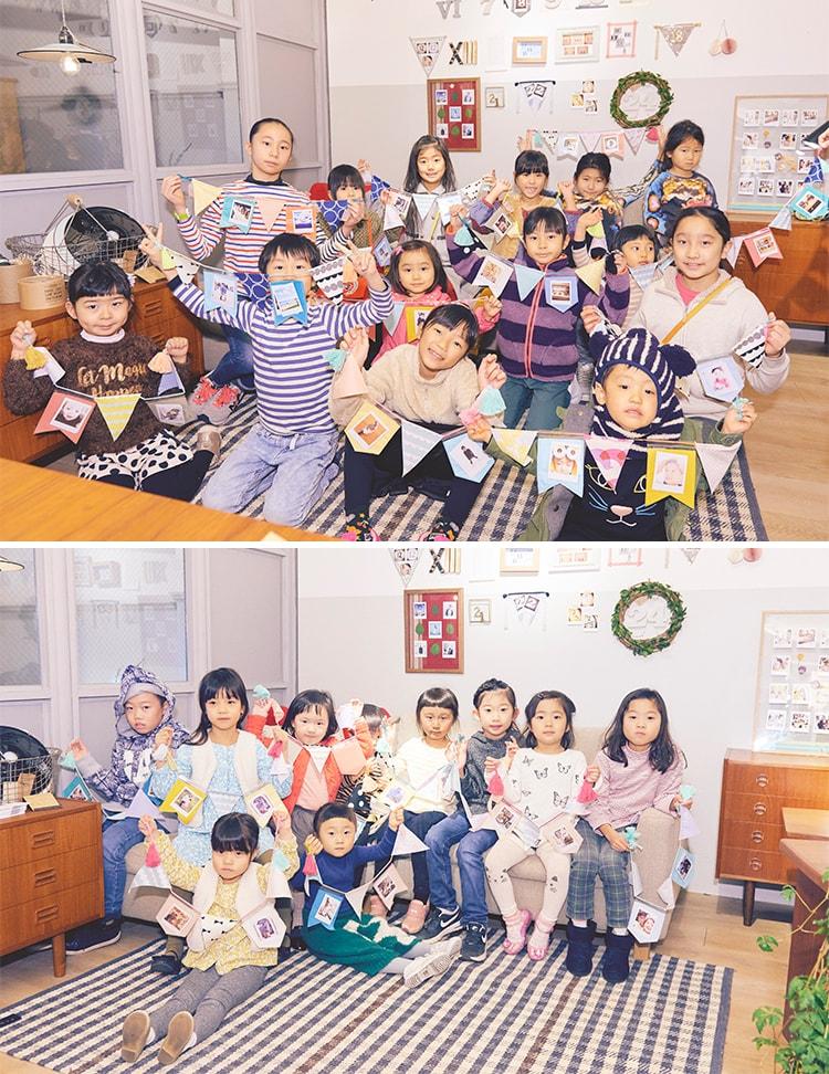 MilK JAPON × チェキのPOP UP SPACE『Living with チェキ』による オリジナルポケットガーランドを作るワークショップの様子をお届け!