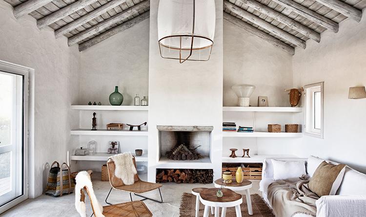 クリエーションを刺激する、ポルトガルのオリーブ畑に囲まれた隠れ家
