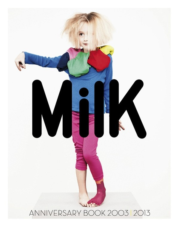 MilK France ANNIVERSARY BOOK