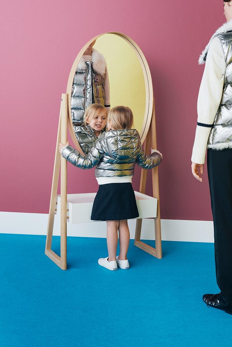 SAMPLE 12:</br>子どもとおとなの冬を先取るダウンスタイル。