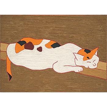 猫や花を鮮やかな色彩で描く「熊谷守一展」展覧会招待券プレゼントも!