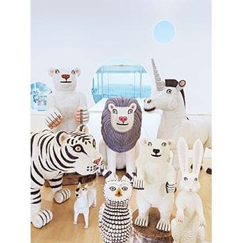 彫刻家・三沢厚彦による動物シリーズ「アニマルズ」を展示「三沢厚彦 ANIMALS IN YOKOSUKA」