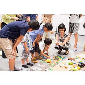 子どもの創造力を育む「うつゆみこの不思議なアート写真創作教室」浅間国際フォトフェスティバルで開催