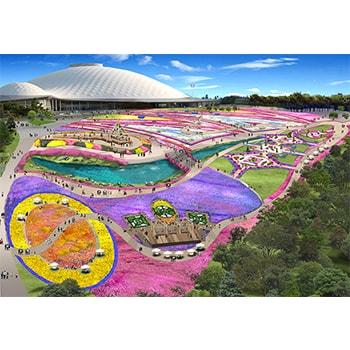 8つのゾーンで1,000のイベントが展開!「山口ゆめ花博」山口きらら博記念公園で開催