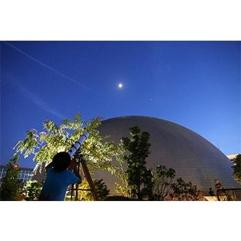 子どもも参加OK!無料天体観測会イベントが福岡市科学館屋上で開催!