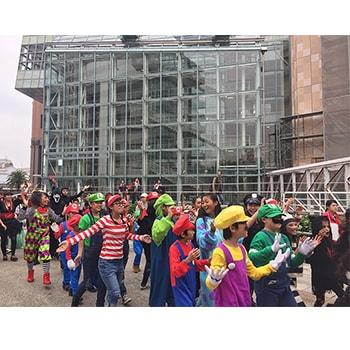 子どもも参加OK!「ハロウィン仮装パレード」神戸ハーバーランドで開催
