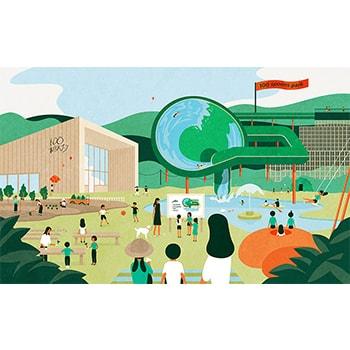 100 本のスプーン あざみ野ガーデンズで「コドモたちとみんなでつくる公園プロジェクト」スタート!