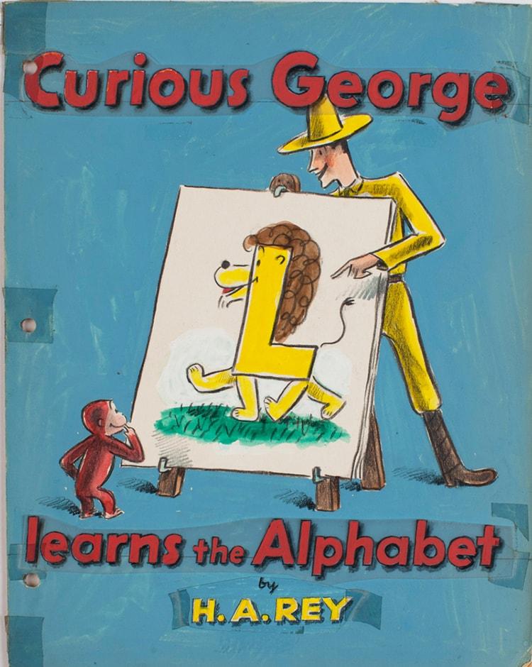 「おさるのジョージ展 『ひとまねこざる』からアニメーションまで」画像