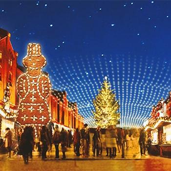 「Christmas Market in 横浜赤レンガ倉庫」本格派クリスマスイベントが横浜で開催
