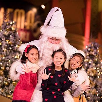 イクスピアリのクリスマスイベント「IKSPIARI Dreamy Christmas!」サンタとの写真撮影も!