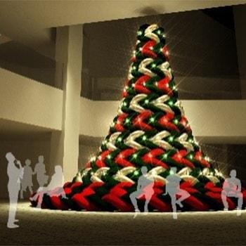 六本木ヒルズのクリスマスイベント「Roppongi Hills Christmas 2018」触って座れるツリーが初登場!