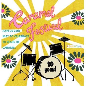 〈キャラメル〉創立20周年をお祝い!代官山店でミュージック・フェスティバルを開催