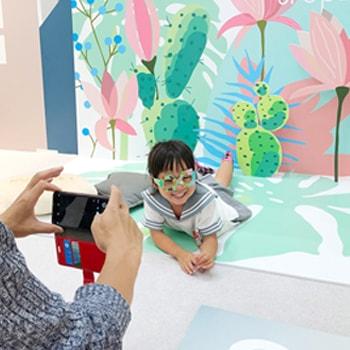 家族向けのフォト&体験スペース〈OYACO nohana〉が〈ららぽーと立川立飛店〉に期間限定オープン!