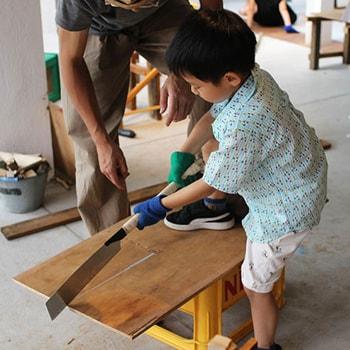 夏休み最後の思い出作りに!天王洲〈tmmt〉で親子向け体験プログラム「VILLAGE」の8月開催が決定