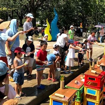 〈しながわ中央公園〉でカルチャーイベント『GOOD PARK! 2019 ~アート、音楽、遊び、発明~』を開催