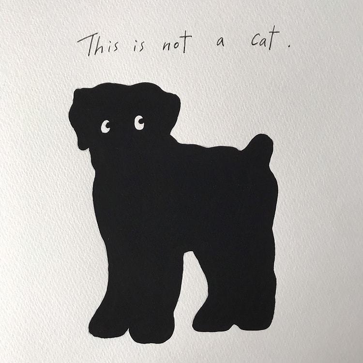 髙島一精 初個展「This is not a cat.」