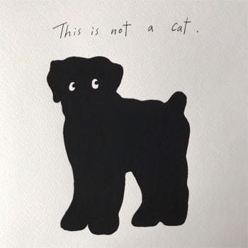 鎌倉のギャラリー〈John〉で髙島一精の個展「This is not a cat.」を開催