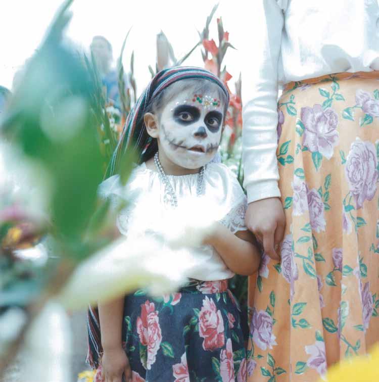 メキシコ:『死者の日』に出会った子どもたち