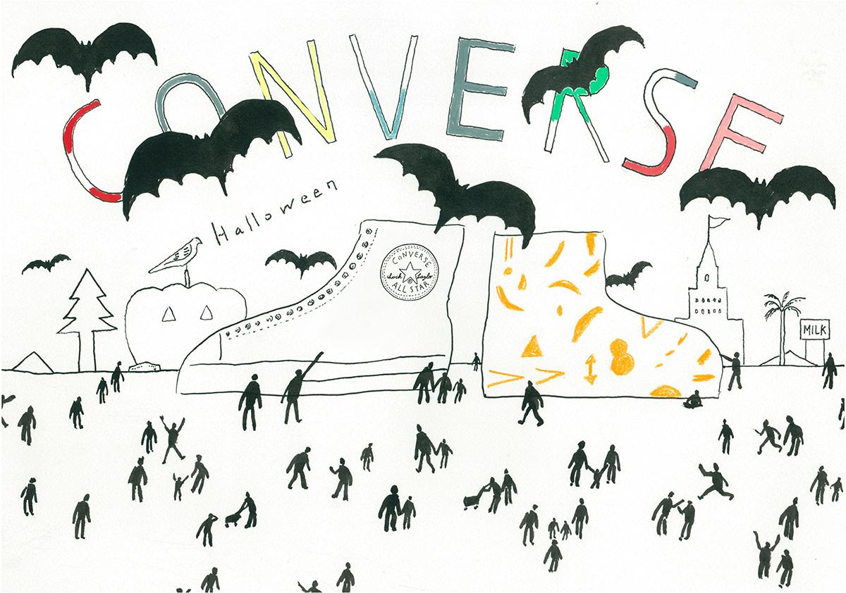 「二子玉川ハロウィンパーティー」にて〈MilK JAPON〉プロデュースの〈コンバース〉フォトブースが登場!