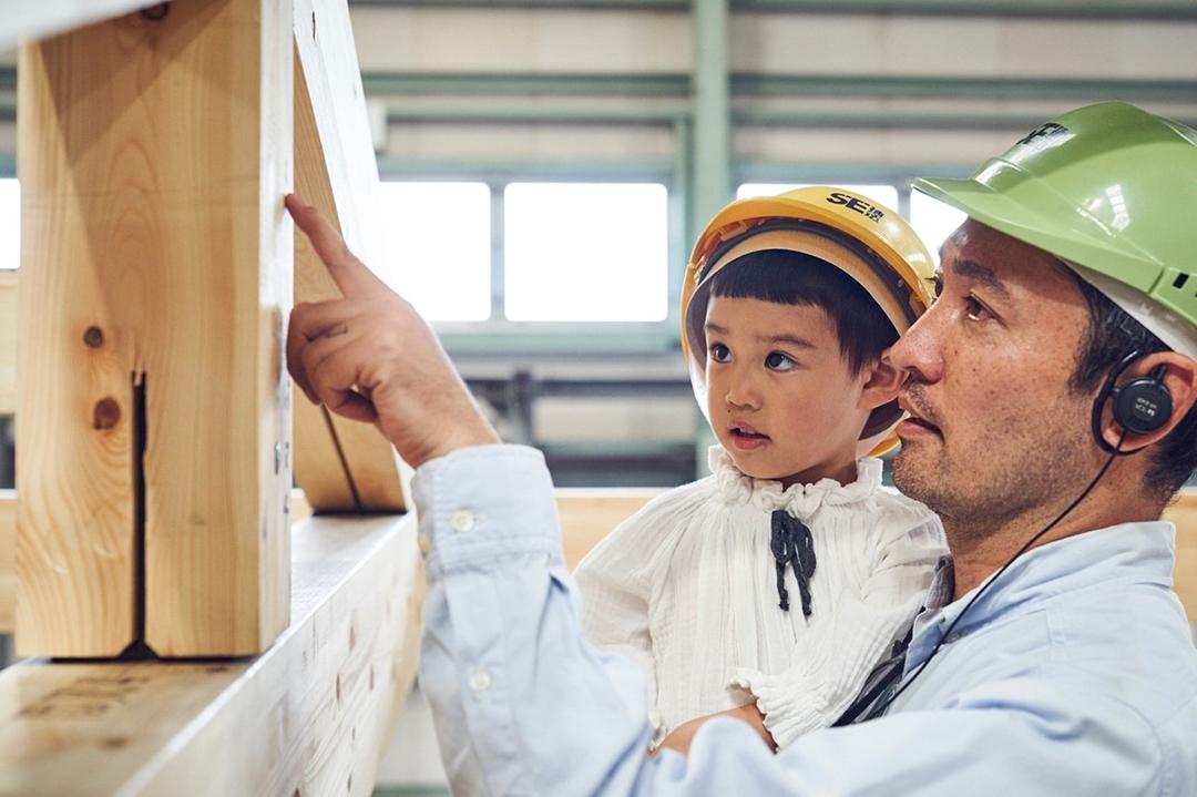 「SE構法」の実演で家作りをもっと身近に|クリエイターが考える、理想の家づくり。