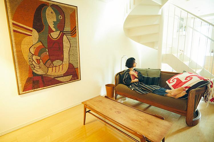 """子どもの頃からの""""好き""""を活かした、モデル・花楓さんの家と暮らし。<br />"""