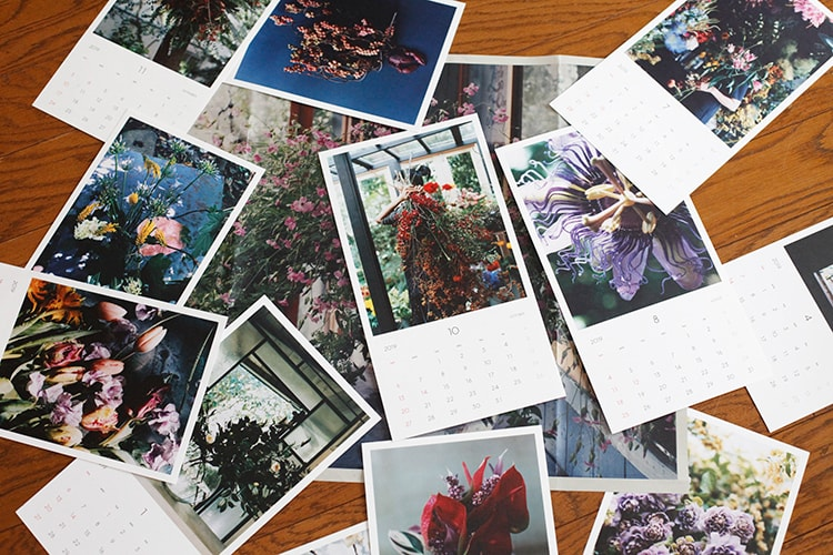 お花連載がカレンダーに!2019年〈MilK JAPON〉カレンダーの受注発売がスタート