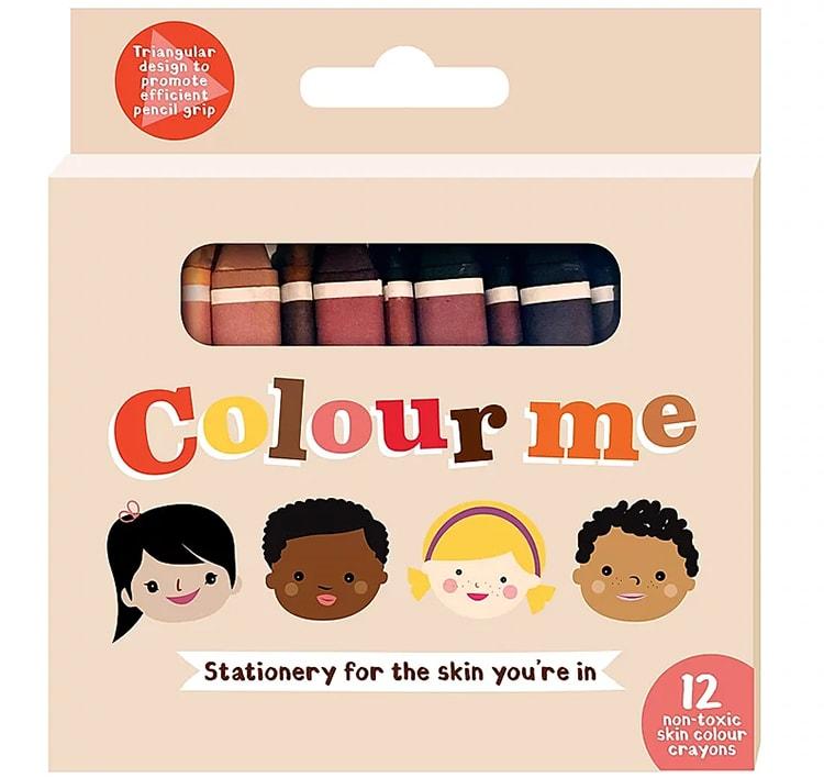 南アフリカで生まれた12色のクレヨン。