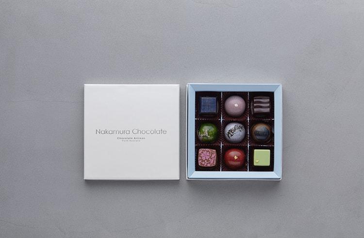宝石のように繊細なデザインのショコラ〈Nakamura Chocolate〉セレブレーションボックス