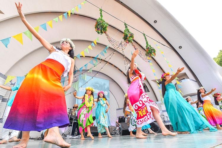 〈OCEAN PEOPLES'19〉(東京・代々木公園 イベント広場)