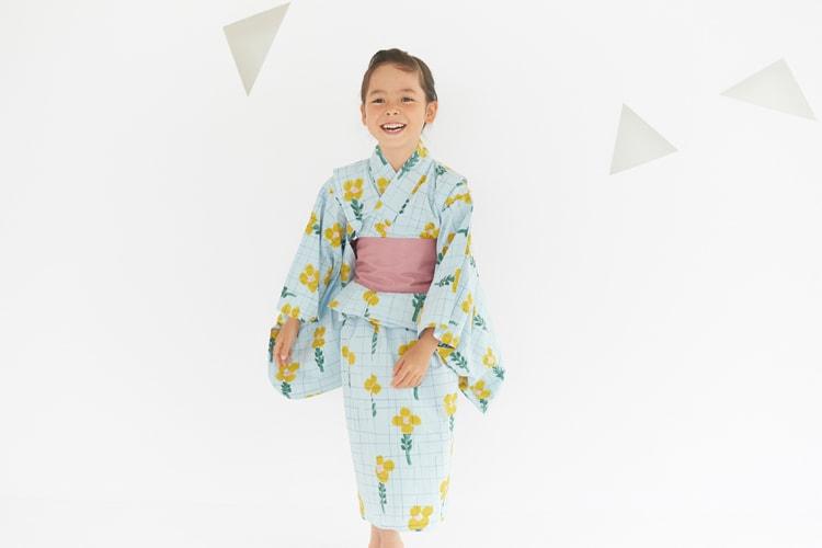 オリジナルのテキスタイルが人気の〈ミナ ペルホネン(minä perhonen)〉の浴衣