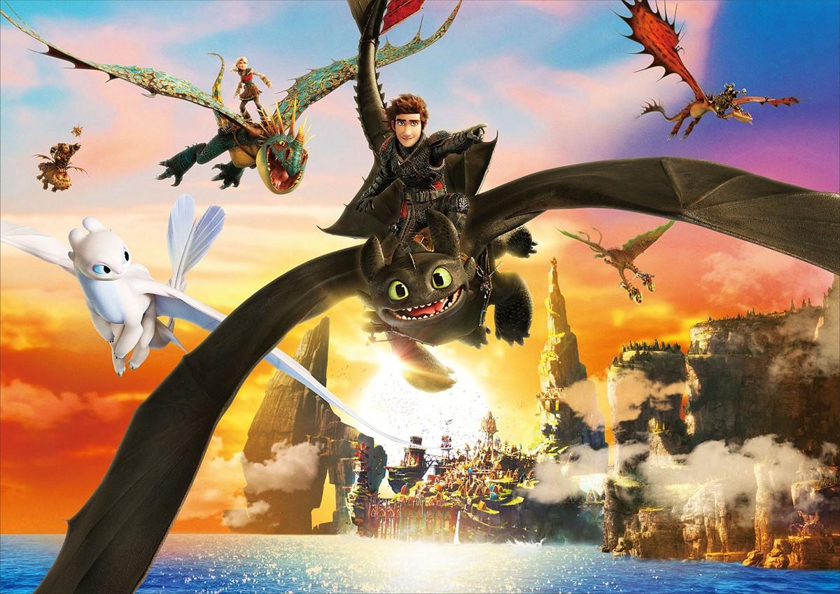 世界的大ヒット映画『ヒックとドラゴン』シリーズ最新作の試写会に5組10名様をご招待!