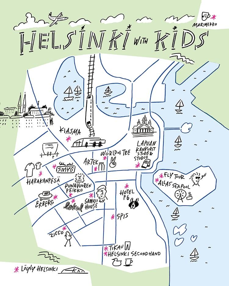 〈MilK JAPON〉×〈FINNTOUR〉家族で楽しむ北欧の旅。完全オリジナルのヘルシンキツアーをお届け!
