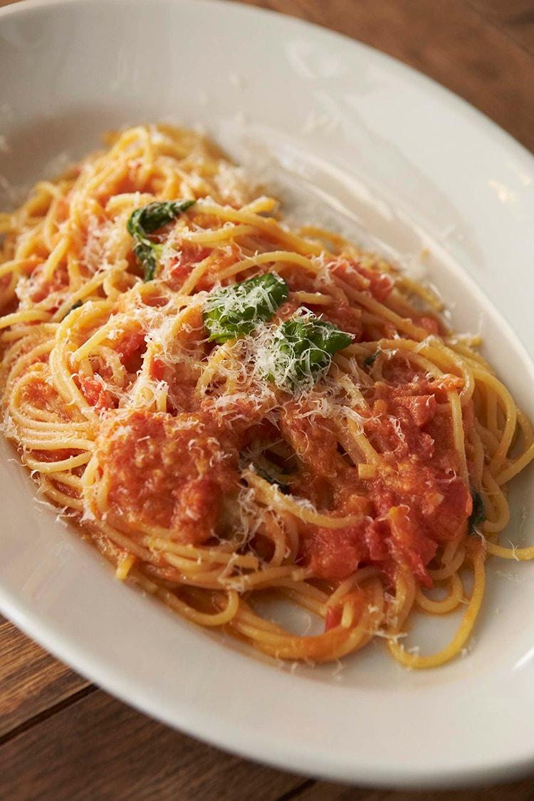 39 フレッシュトマトのスパゲッティレシピ