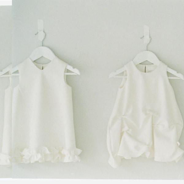 〈ヨーコ チャン〉の白のドレス