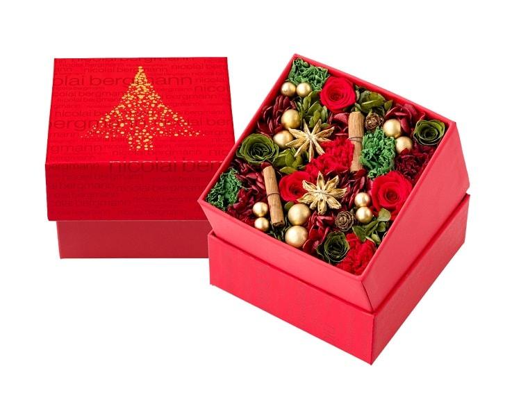 〈Nicolai Bergmann Flowers & Design〉クリスマス限定のフラワーボックス登場!