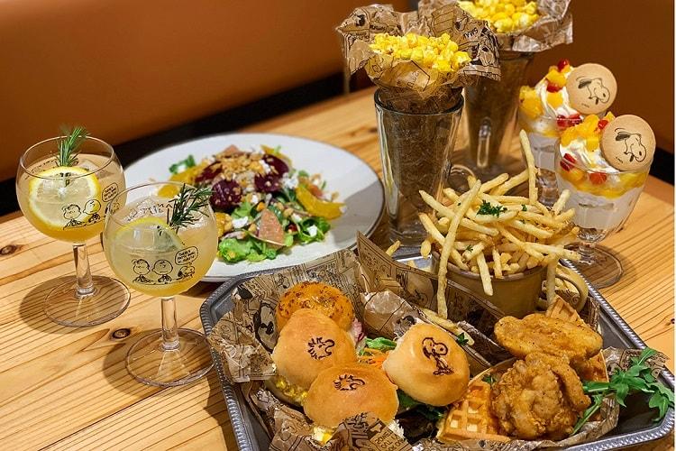 〈PEANUTS Cafe 中目黒〉ウッドストックのティーパーティープラン