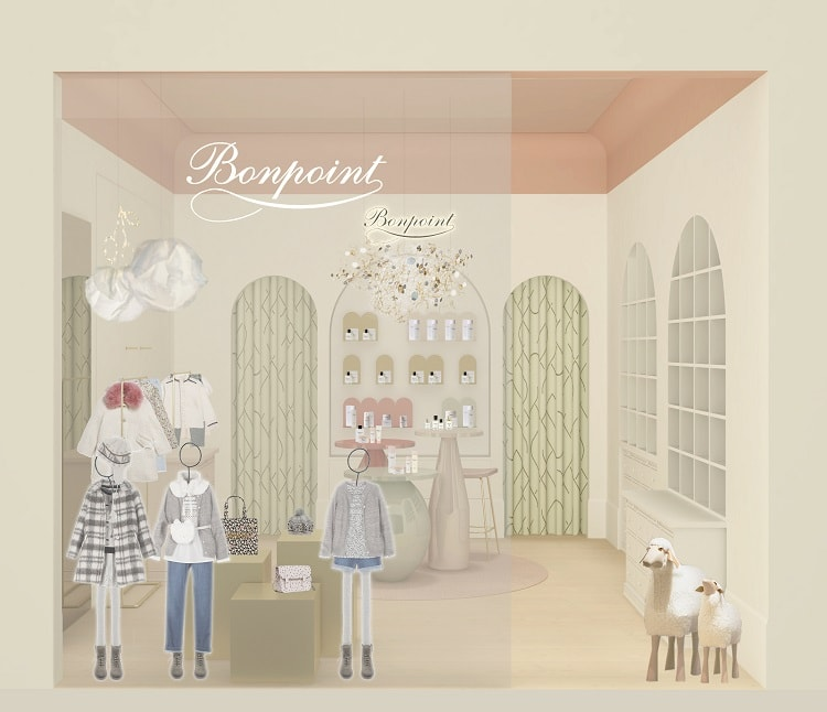〈Bonpoint〉六本木・東京ミッドタウンに新店をオープン! 新作香水も先行発売開始