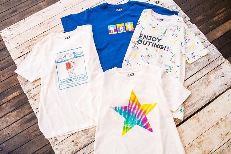 〈LOGOS〉×〈GLOBAL WORK〉コラボアイテム「Tシャツ」