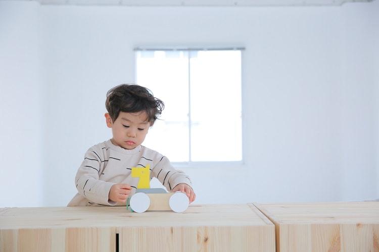 おしゃれな木製玩具〈dou?〉my zoo