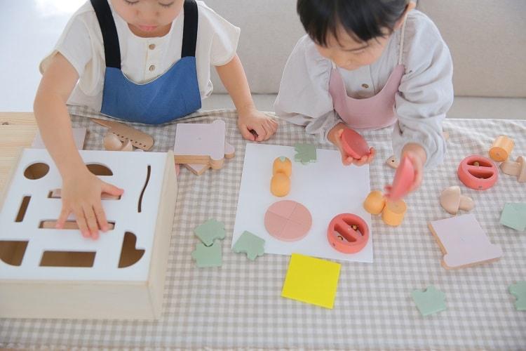 おしゃれな木製玩具〈dou?〉little chef
