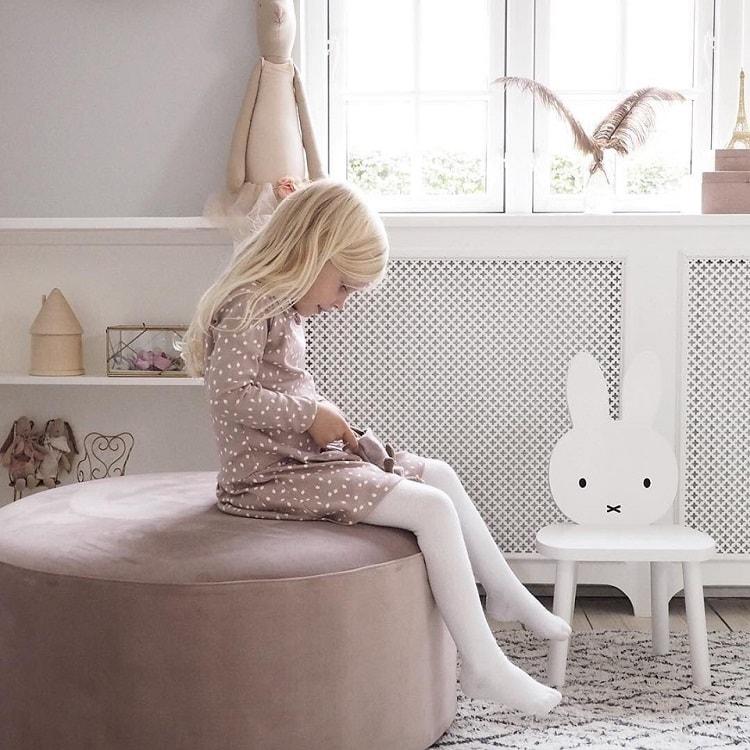 世界中で愛されているキャラクター「ミッフィー」にキッズ家具が登場!